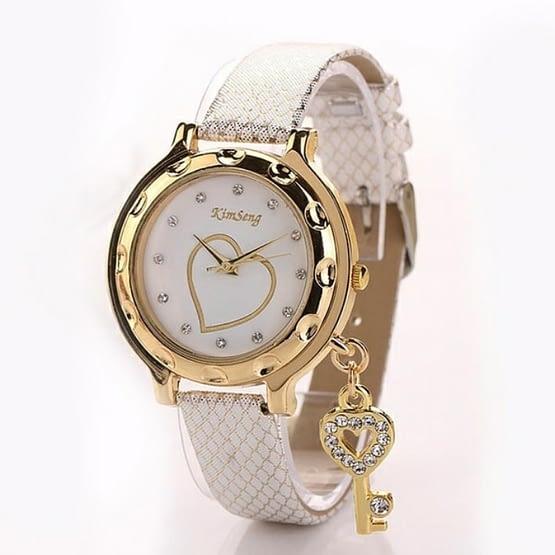 Moteriškas laikrodis su rakteliu
