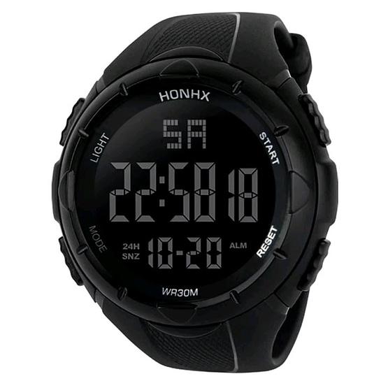 Skaitmeninis vyriškas laikrodis