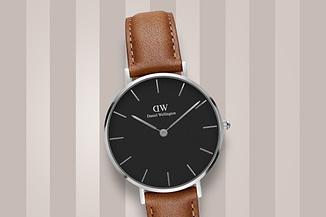 1 zegarek damski na pasku daniell welington classic petite durham