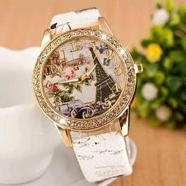 Moteriškas laikrodis Eifelio bokštas