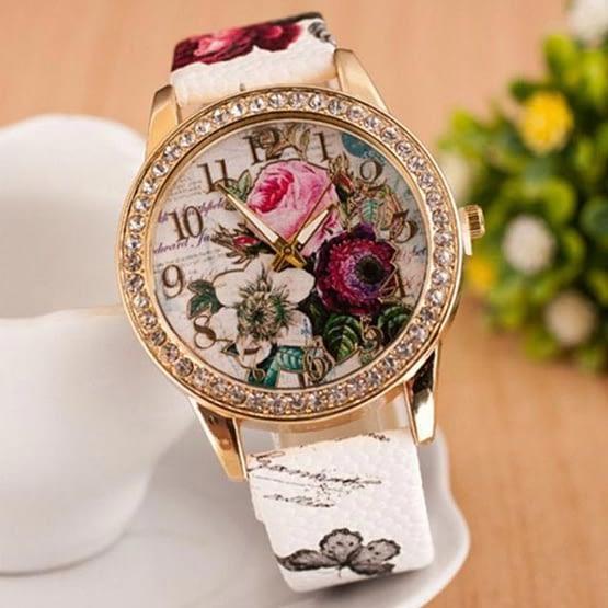 Moteriškas laikrodis Moteriškos Gelės