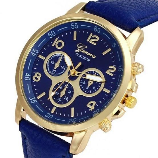 Mėlynas laikrodis